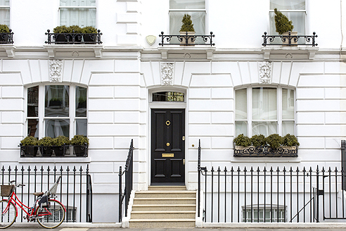 security for london town houses amax